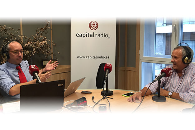 Entrevista a Jorge Salinas en Capital Radio sobre Mentoring, international mentoring school de Atesora Group