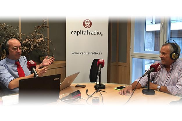Entrevista a Jorge Salinas en Capital Radio sobre Mentoring, international mentoring school de Atesora Group