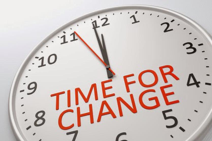 18 min to change