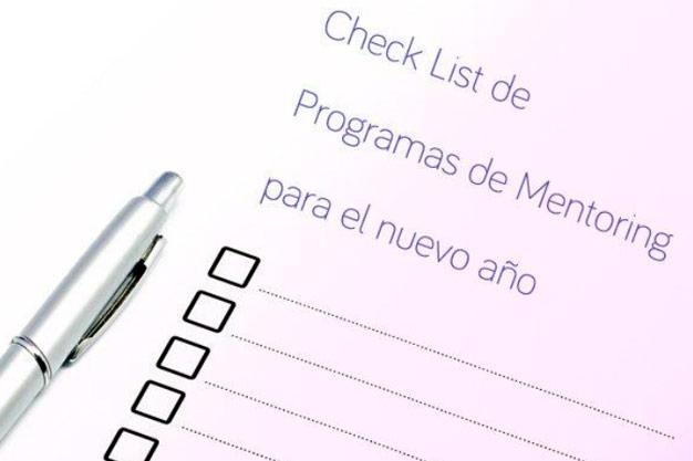 Check List de programas de Mentoring para el nuevo año de International mentoring School IMS de Atesora Group