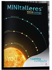 Catálogo MINItalleres 2018 de Learning For Results de Atesora Group para el desarrollo de habilidades directivas, liderazgo, escucha, comunicación