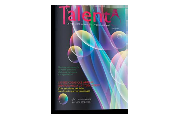 Revista Talento. Especializada en coaching, mentoring, facilitación, liderazgo. Para recursos humanos.