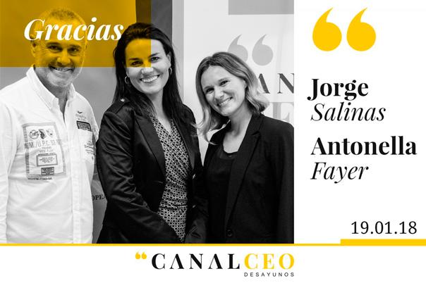 La empresa camaleón en Canal CEO. Jorge Salinas y Antonella Fayer