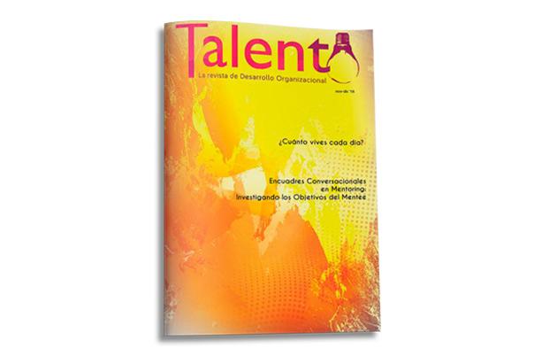 Última edición de la Revista Talento 2018
